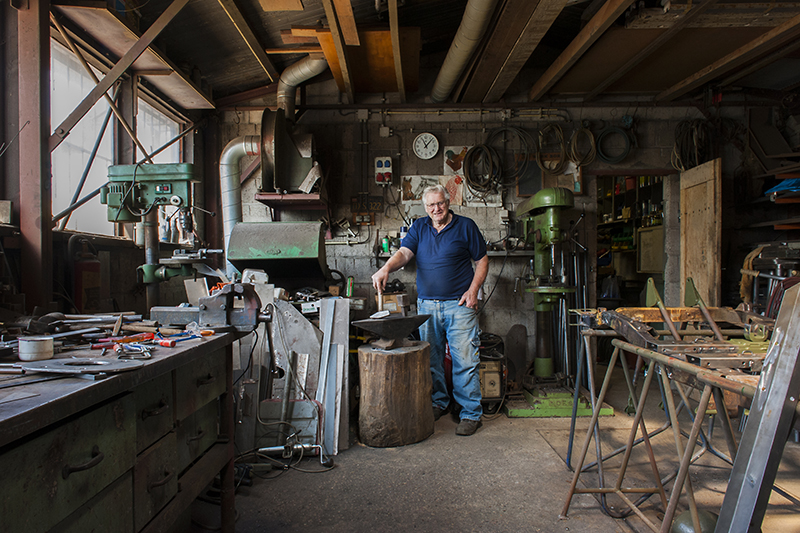 Kees en Joos, legerjeep, werkplaats, tweede wereldoorlog, market garden, ingrid joppe, joppe fotografie, arnhem, gelderland